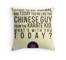 Empire Records Quote Throw Pillow