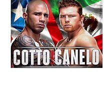 Miguel Cotto vs Canelo Alvarez Boxing by RighteousOnix