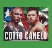 Miguel Cotto vs Canelo Alvarez Boxing Baby Tee