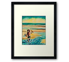 Towards The Sea (Maisie) Framed Print