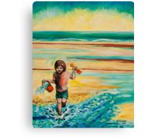Towards The Sea (Maisie) Canvas Print