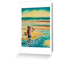 Towards The Sea (Maisie) Greeting Card
