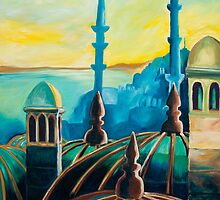 City At Dawn by Gillian Sinclair