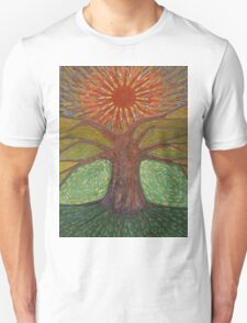Sun And Tree Unisex T-Shirt