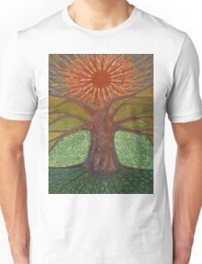 Sun And Tree Unisex T-Shirt