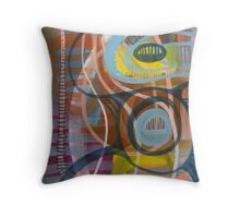 Listen to the Labyrinth Throw Pillow