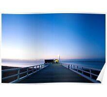 The Historic Queenscliff Jetty Poster