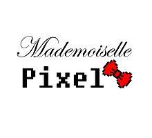 mademoiselle pixel Photographic Print