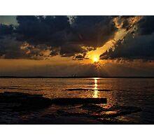 Sundown Flare Photographic Print