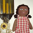 Wendy the plastic bag holder doll by F. Magdalene Austin