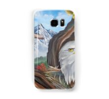 Don't touch his flag ! Samsung Galaxy Case/Skin