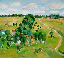 Landscape  by Nataliya Stoyanova