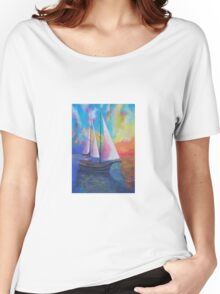 Bodrum Turquoise Coast Gulet Cruise Women's Relaxed Fit T-Shirt