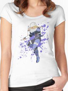 Sheik - Super Smash Bros Women's Fitted Scoop T-Shirt