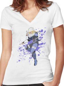 Sheik - Super Smash Bros Women's Fitted V-Neck T-Shirt