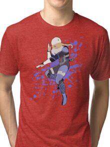 Sheik - Super Smash Bros Tri-blend T-Shirt