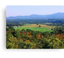 Shenandoah Valley Canvas Print