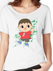 Villager - Super Smash Bros Women's Relaxed Fit T-Shirt