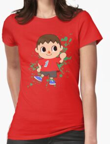 Villager - Super Smash Bros Womens Fitted T-Shirt