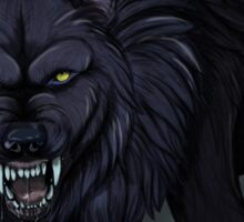 Darcia Wolf Sticker