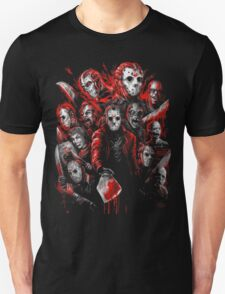 Jason Voorhees (Many faces of) Unisex T-Shirt