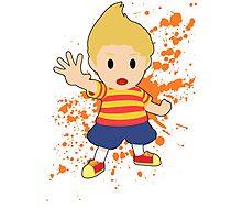Lucas - Super Smash Bros Photographic Print