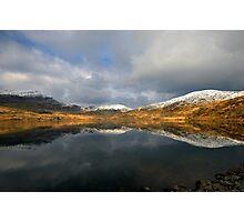 Echo - Llyn Cwmystradllyn Lake, Porthmadog Photographic Print