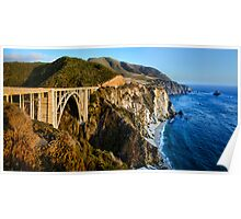 Bixby Bridge Poster