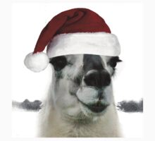 The Pretty Christmas Llama Kids Clothes