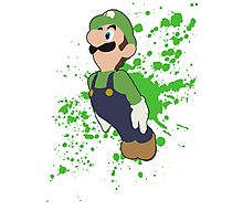 Luigi - Super Smash Bros Photographic Print