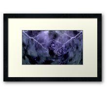 At Ceti Tau - Quadtrant X Trickster Loki Nebula Framed Print