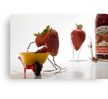 Where Strawberry Jam Comes From Canvas Print