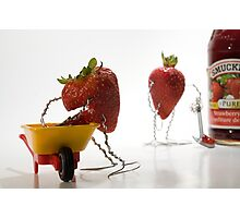 Where Strawberry Jam Comes From Photographic Print