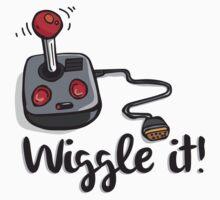 Old school gamer joystick - wiggle it! by crashtackle