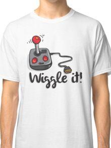 Old school gamer joystick - wiggle it! Classic T-Shirt