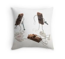 Caramilk Security Throw Pillow