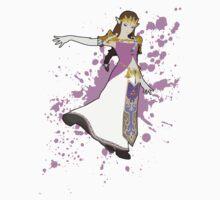 Zelda - Super Smash Bros by PrincessCatanna