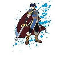 Marth - Super Smash Bros Photographic Print