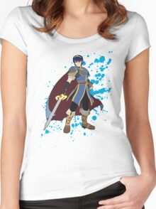 Marth - Super Smash Bros Women's Fitted Scoop T-Shirt
