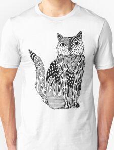 Cat Zentangle T-Shirt