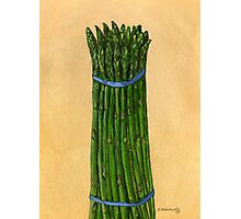 asparagus for us Photographic Print