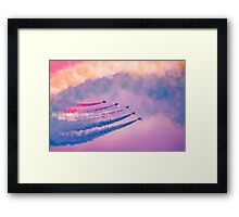 Southport Air Show - Red Arrows Framed Print