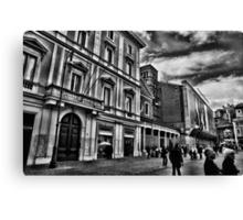 ROME - STREETSCAPE ...(3) Canvas Print