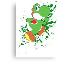 Yoshi - Super Smash Bros  Canvas Print