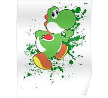 Yoshi - Super Smash Bros  Poster