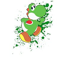 Yoshi - Super Smash Bros  Photographic Print