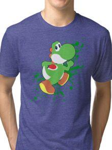 Yoshi - Super Smash Bros  Tri-blend T-Shirt