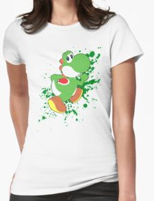 Yoshi - Super Smash Bros  Womens Fitted T-Shirt