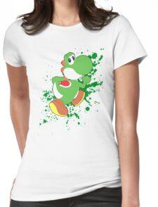 Yoshi - Super Smash Bros  Womens Fitted T-Shirt