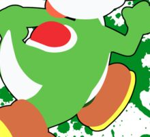 Yoshi - Super Smash Bros  Sticker